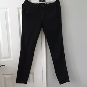 Abercrombie super slim black 28×32 pants